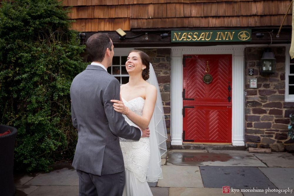 Claire & Steven's Princeton Wedding at Nassau Inn | Kyo Morishima Photography
