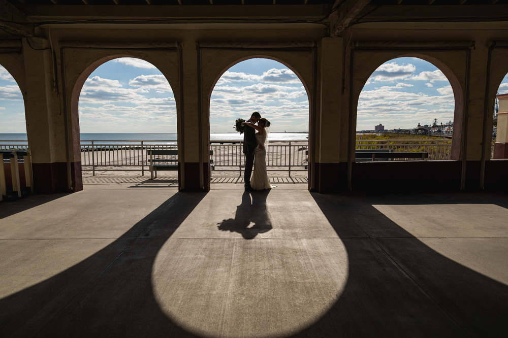 Alissa and Matt. An Ocean City New Jersey Wedding