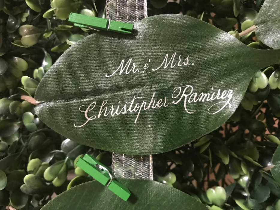 Unique Escort Cards for Weddings and Parties
