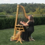 NJ Wedding Vendor Harpist, Margaret Sneddon in New York City NY