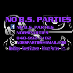 No B.S. Parties is a NJ Wedding Vendor