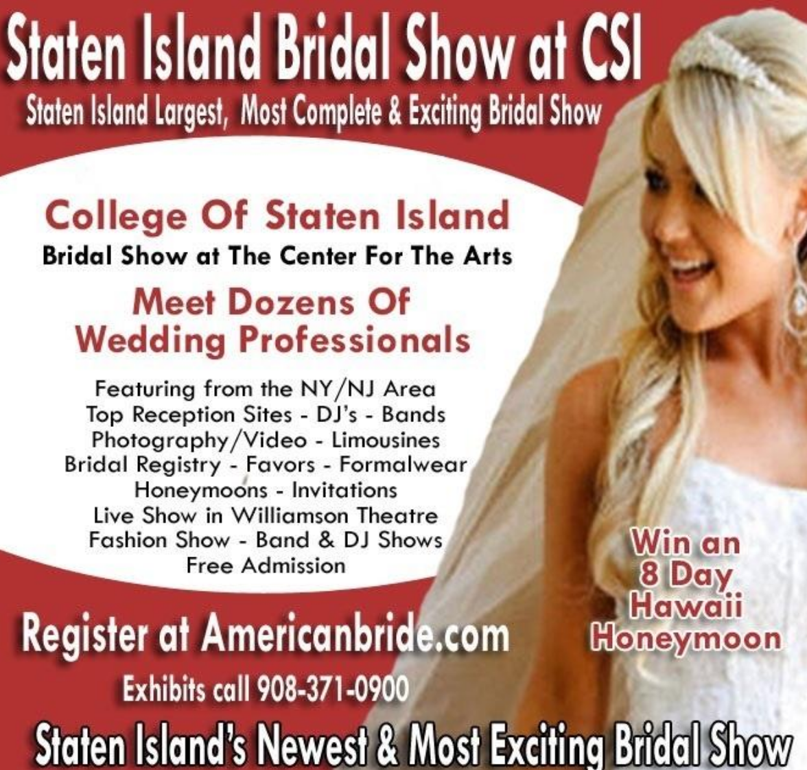 Staten Island Bridal Show at CSI