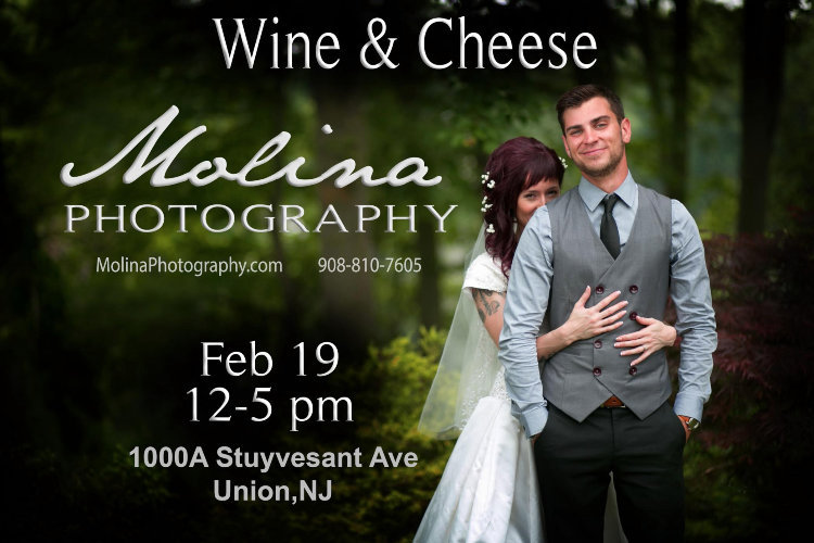 Molina Photography Wine & Cheese Open House