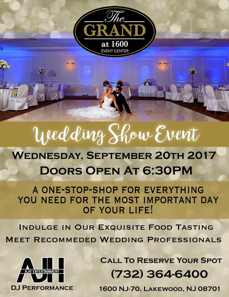 Wedding Show Event at The Grand at 1600