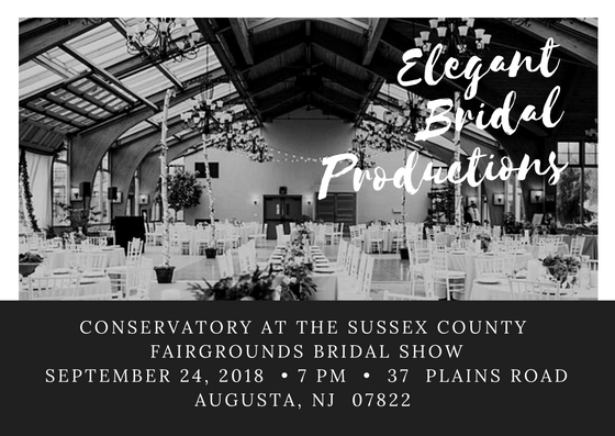 Conservatory at the Sussex County Fairgrounds Bridal Show
