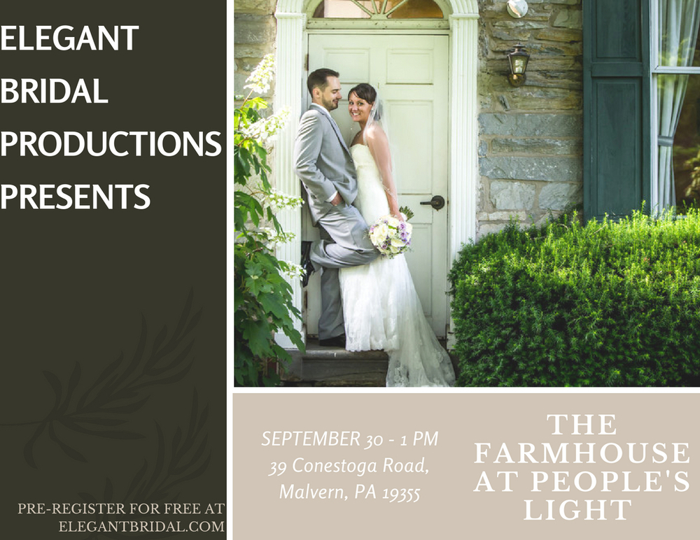 The Farmhouse at the People's Lighthouse Bridal Show