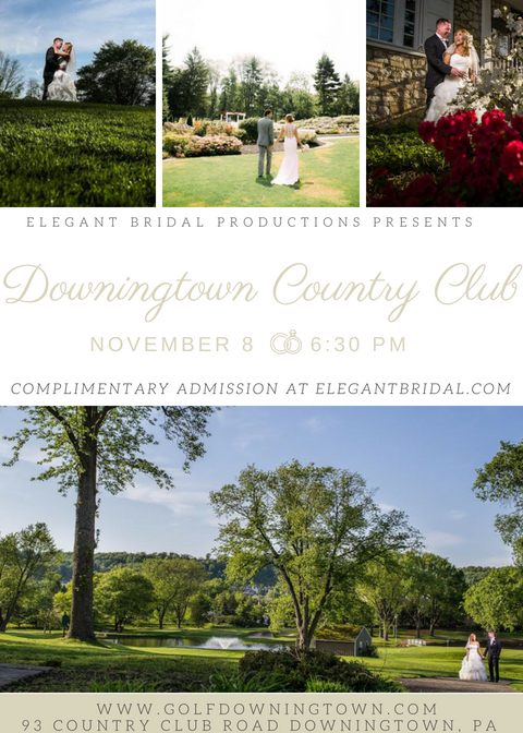 Downingtown Country Club Bridal Show