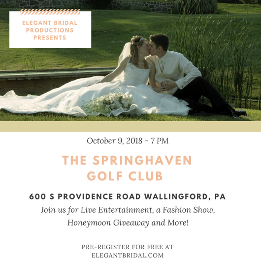 The Springhaven Golf Club Bridal Show