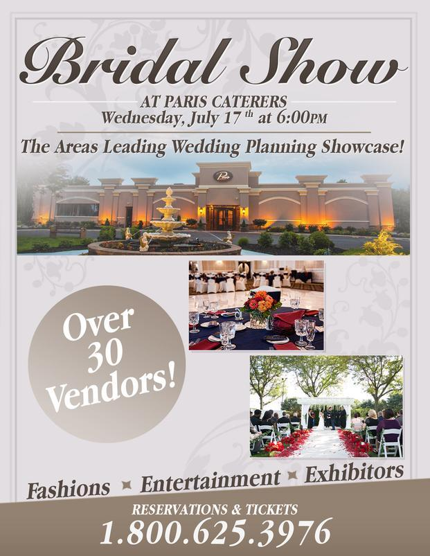 South Jersey Summer Bridal Expo at Paris Caterers