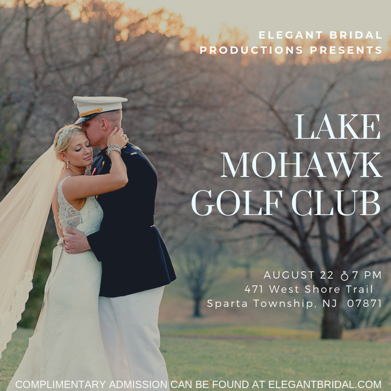 Lake Mohawk Golf Club Bridal Show