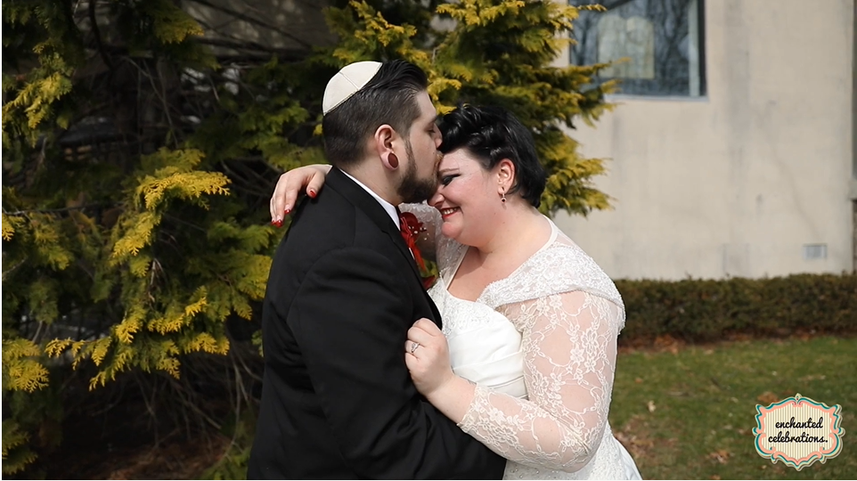 Alice and Ethan's Wedding Videography at Congregation Beth Ohr