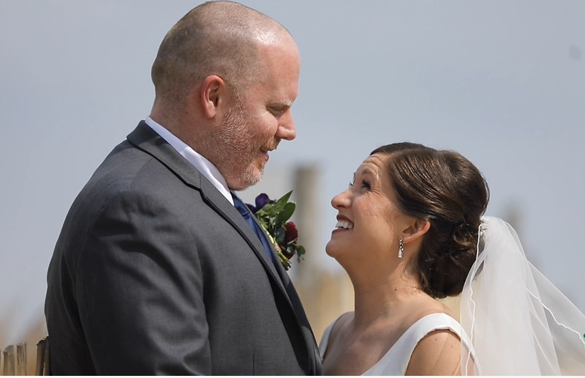 Anastacia and Casey's Wedding Videography at LBI Foundation in Loveladies