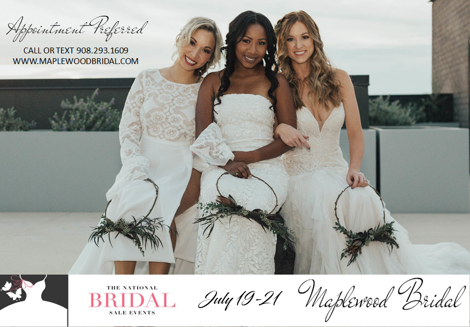Book Your Spot Today, National Bridal Sale