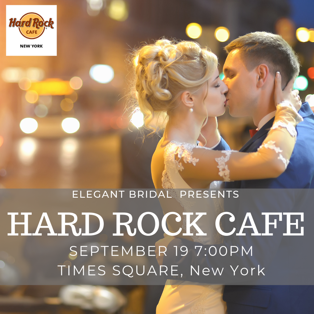 Hard Rock Cafe Times Square Bridal Show