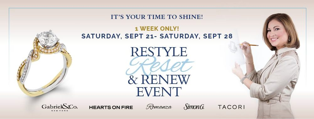 Roman Jewelers Restyle, Reset & Renew Event