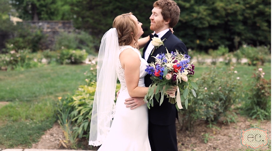 Elizabeth and Corey's Wedding Videography at Mendenhall Inn