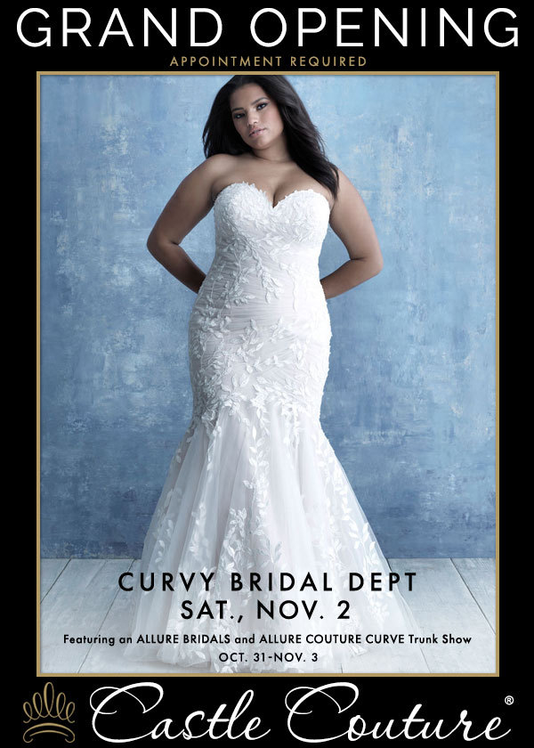 Curvy Bridal Dept Grand Opening