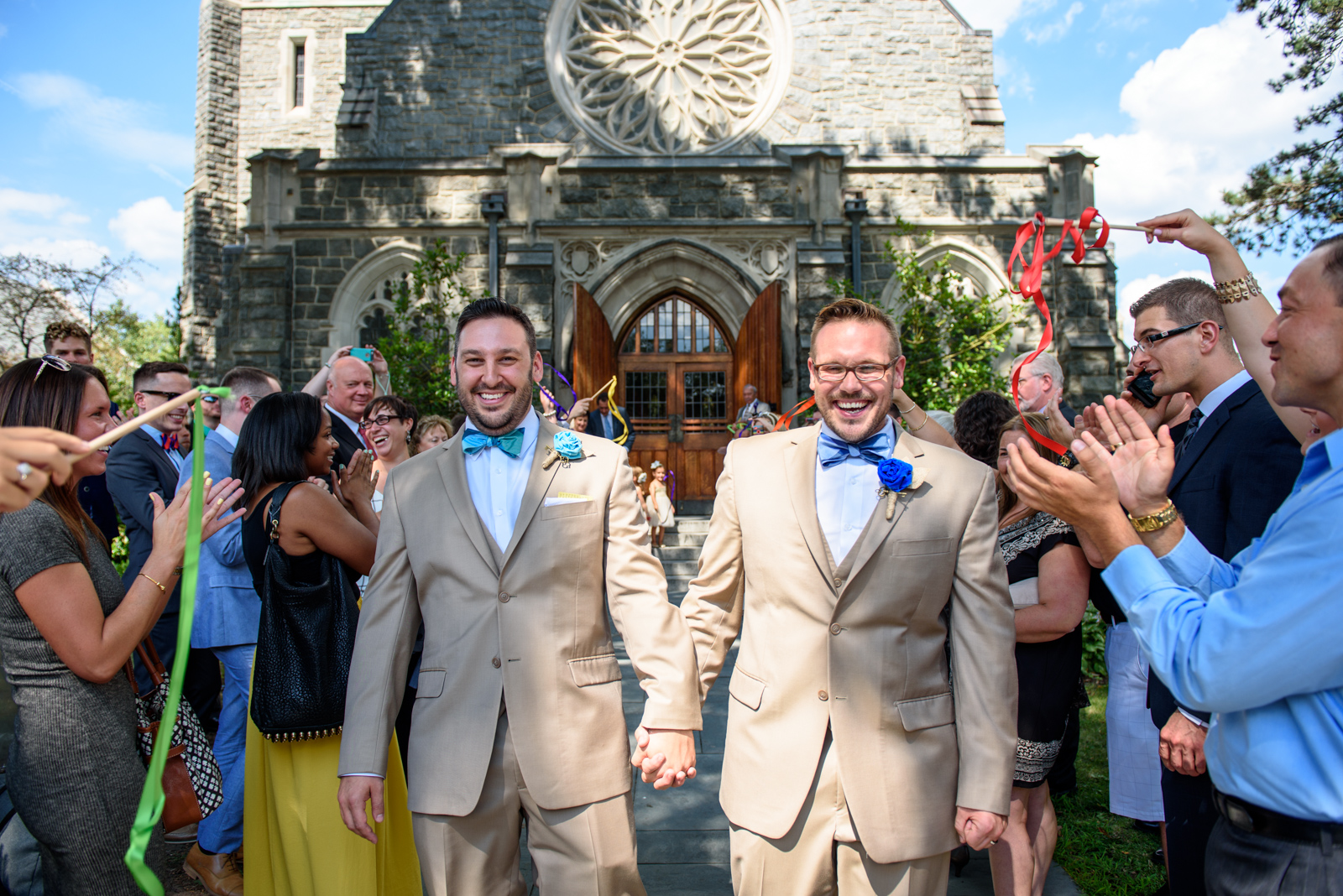 NJ's Same-Sex Wedding Giveaway Winners Greg & JP Get Married!
