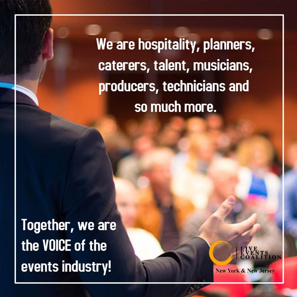 NY / NJ Live Events Coalition Issues Call To Action To Support Local Events Industry