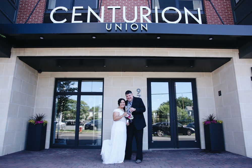 Couple Forced To Cancel Wedding Due To COVID-19 Exchange Vows At New Home At Centurion Union