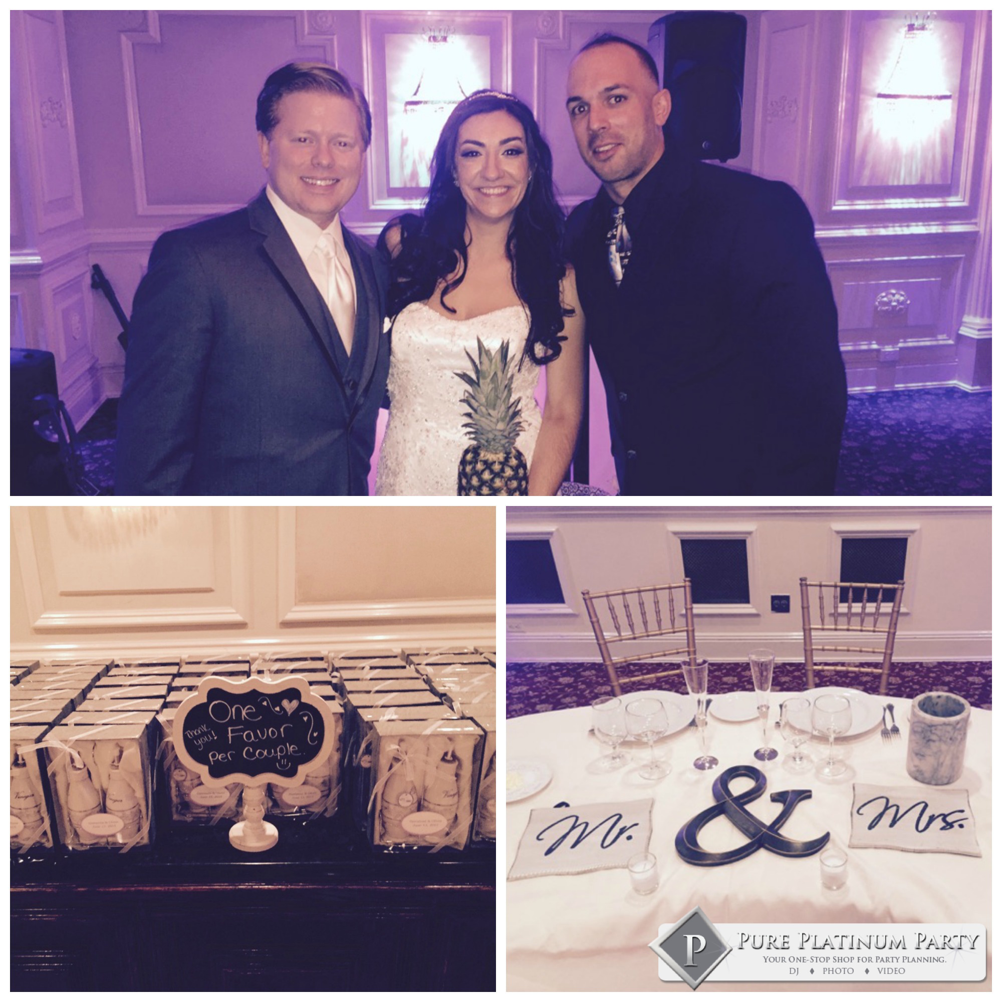 New Jersey Couple Ties the Knot at The Tides Estate