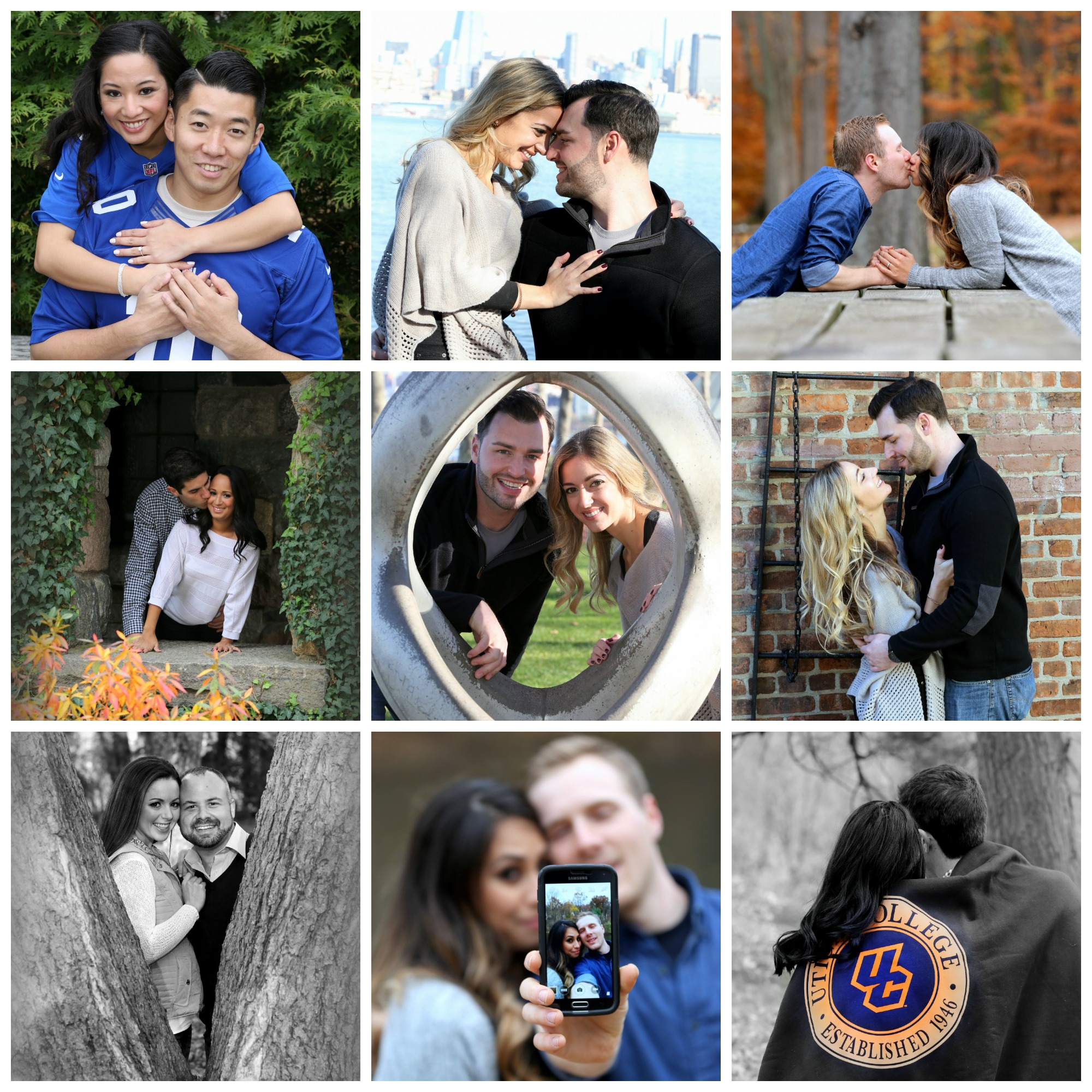 2016 Couples Show Their Love at Their Engagement Sessions