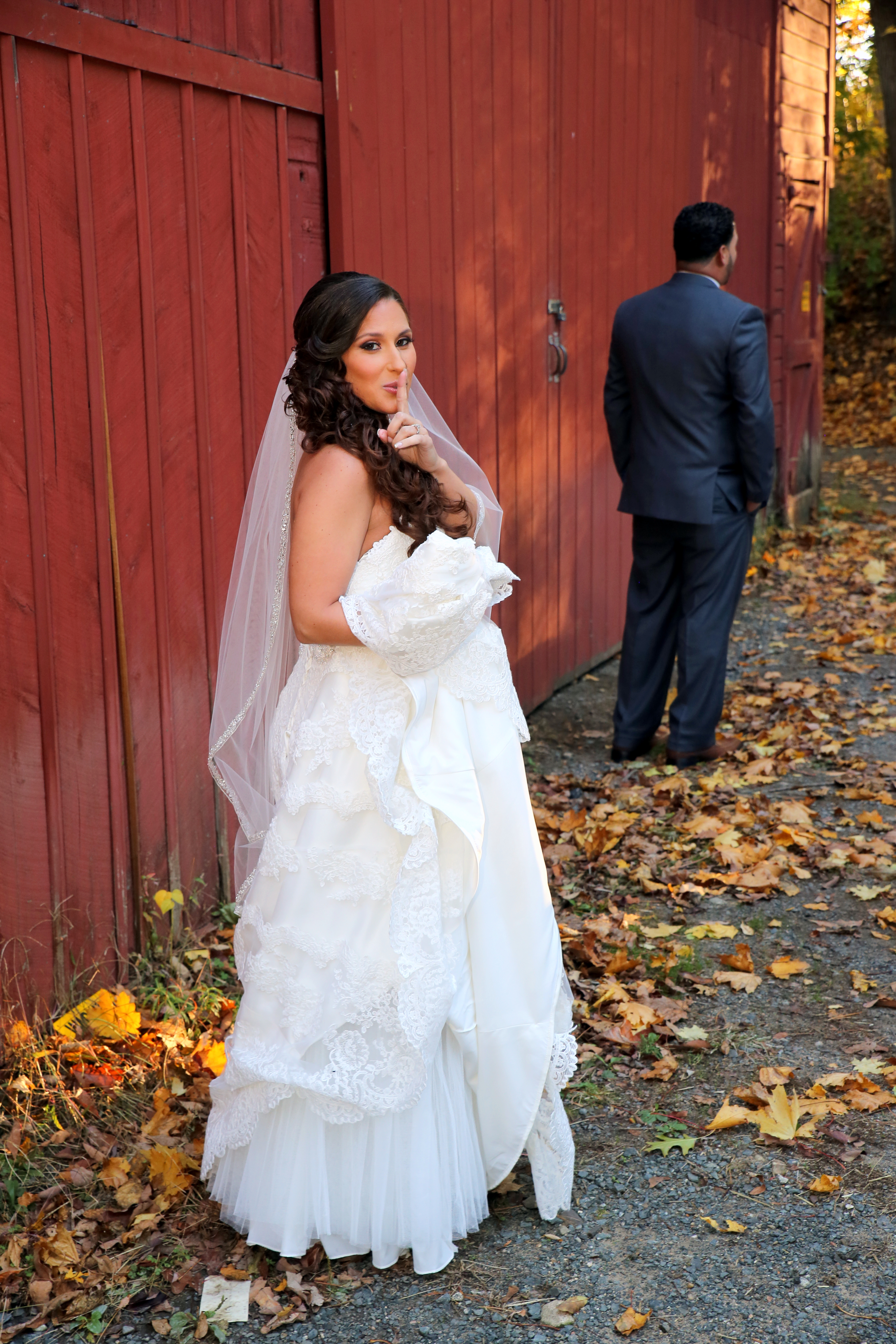 Behind the Scenes of NJ Couple's Pre-Reveal Caught on Camera -Park Savoy in Florham Park, NJ.
