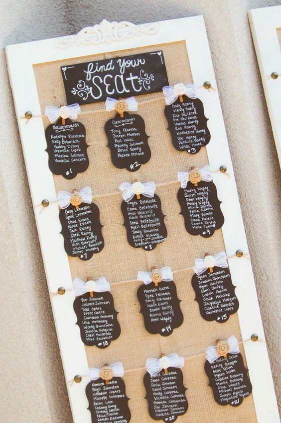 7 DIY Ways to Use Chalk During Your Wedding | Enchanted Celebrations
