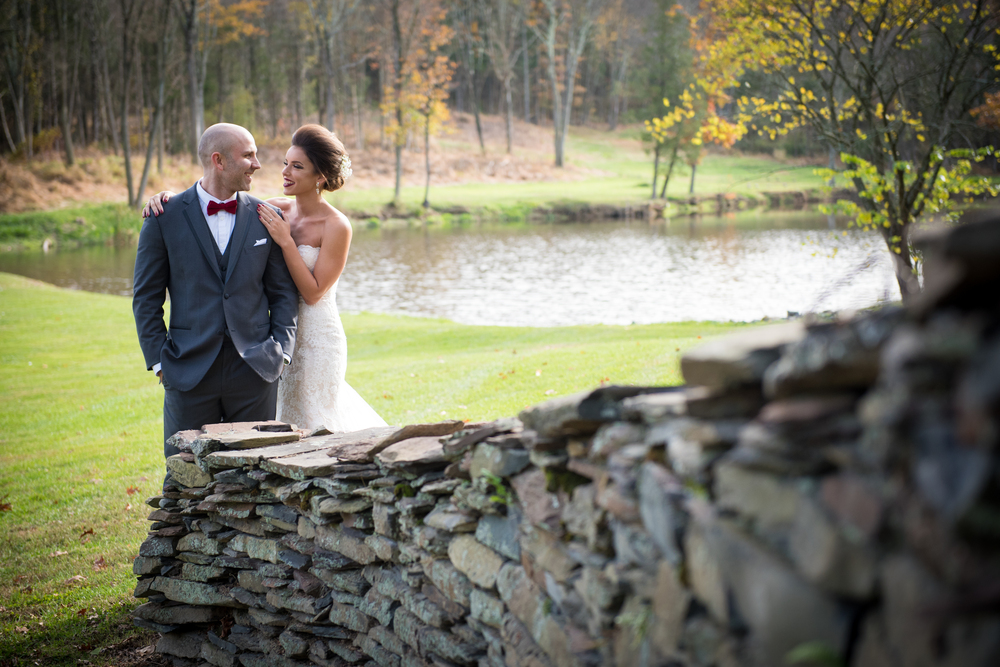 Kathleen and Justin's Wedding at Harmony Hollow Run