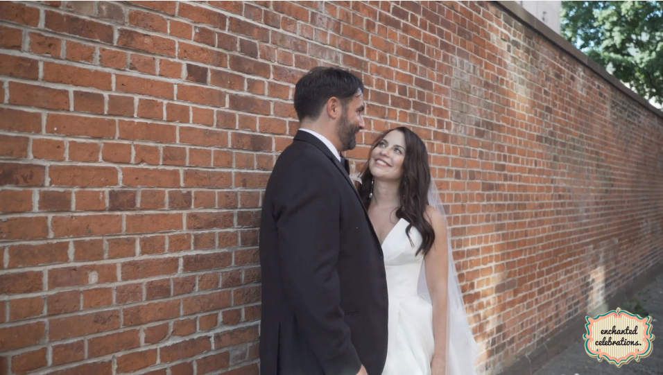 Jackie and Seth's Wedding Videography at the Tribeca Rooftop