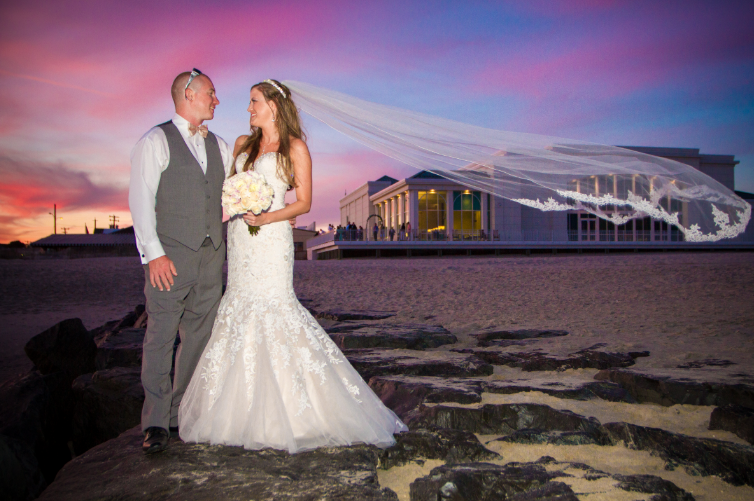 Cape May Convention Hall Wedding Photos and Videos