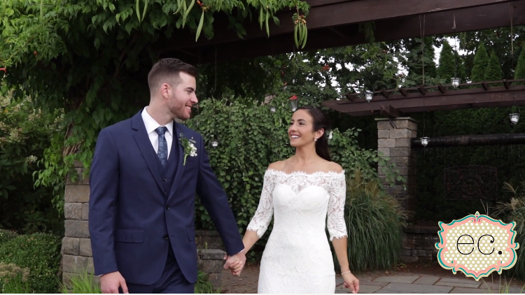 Victoria and Sean's Wedding Videography at Sussex County Conservatory