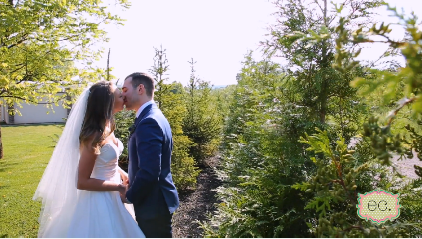 Chelsea and Michael's Wedding Videography at Ryland Inn