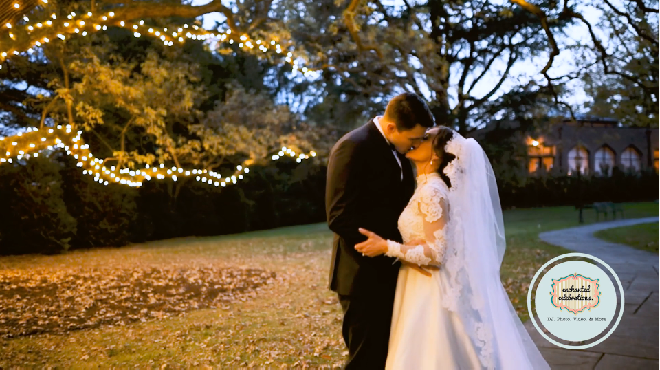 Catherine and Travis' Wedding Videography at Aldie Mansion