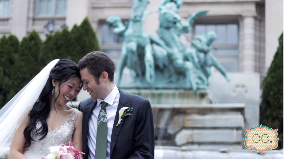 Elaine and Kenneth's Wedding Videography at The New York Botanical Gardens