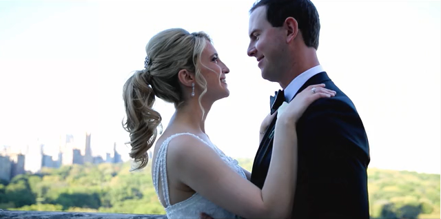 Lauren and Christopher's Wedding Videography at New York Athletic Club