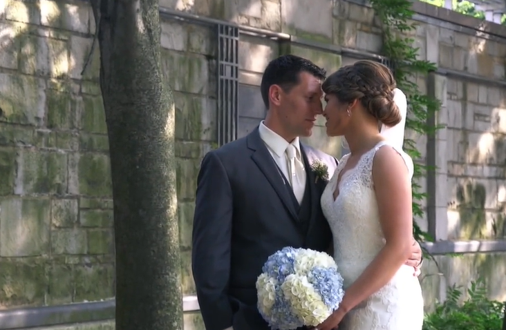 Nicole and Chris' Wedding Videography at Constantino's