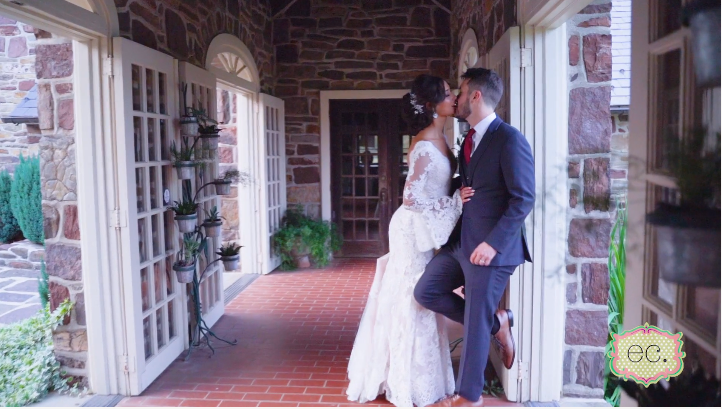 Brittany and Darin's Wedding Videography at Pearl S. Buck Estate