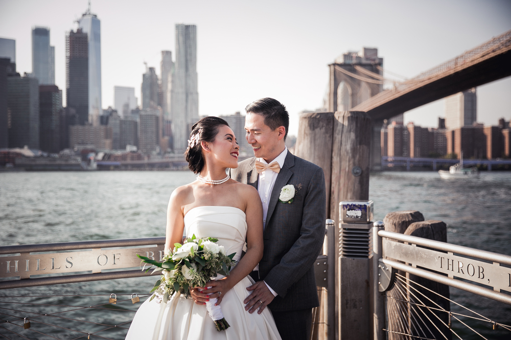 Verona and Shawn's Wedding Videography at One Hotel Brooklyn Bridge