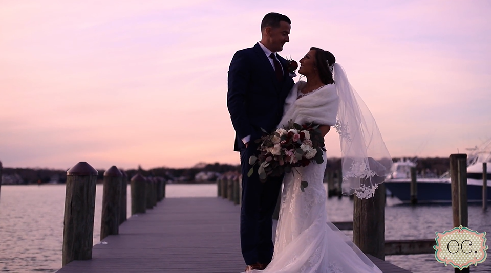 Adriana and Neil's Wedding Videography at Clarks Landing Yacht Club Point Pleasant