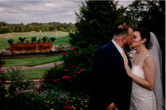Sarah and Jonathan's Wedding Videography at Scotland Run Golf Club
