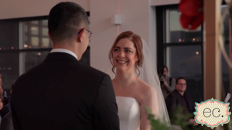 Lucinda and Arthur's Wedding Videography at Chelsea Piers