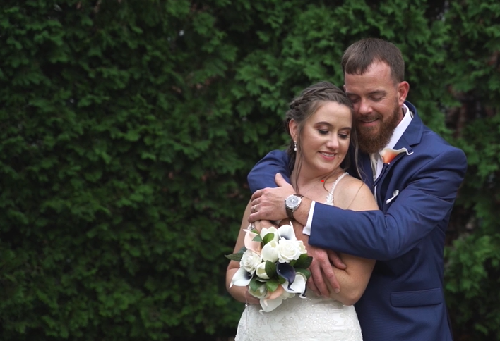 Stephanie and Brian's Wedding Videography at Kings Mills