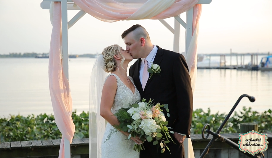 Kathleen and Craig's Wedding Videography at The Corinthian Yacht Club