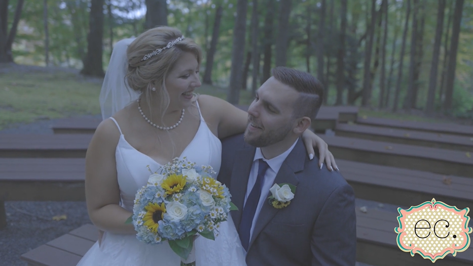 Nichole and Brian's Wedding Videography at The Stroudsmoor Country Inn