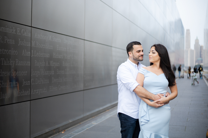 Corinne and Giuseppe's Engagement Session Was Published!