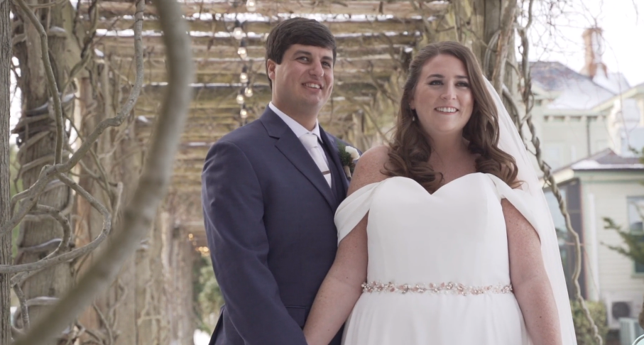 Morgan and Anthony's Wedding Videography at Jedediah Hawkins Inn
