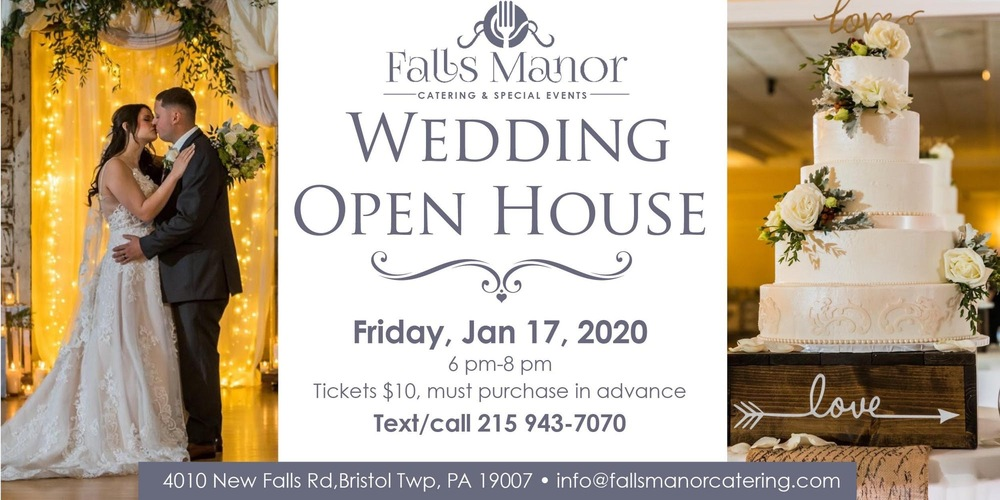 Winter Wedding Open House at Falls Manor
