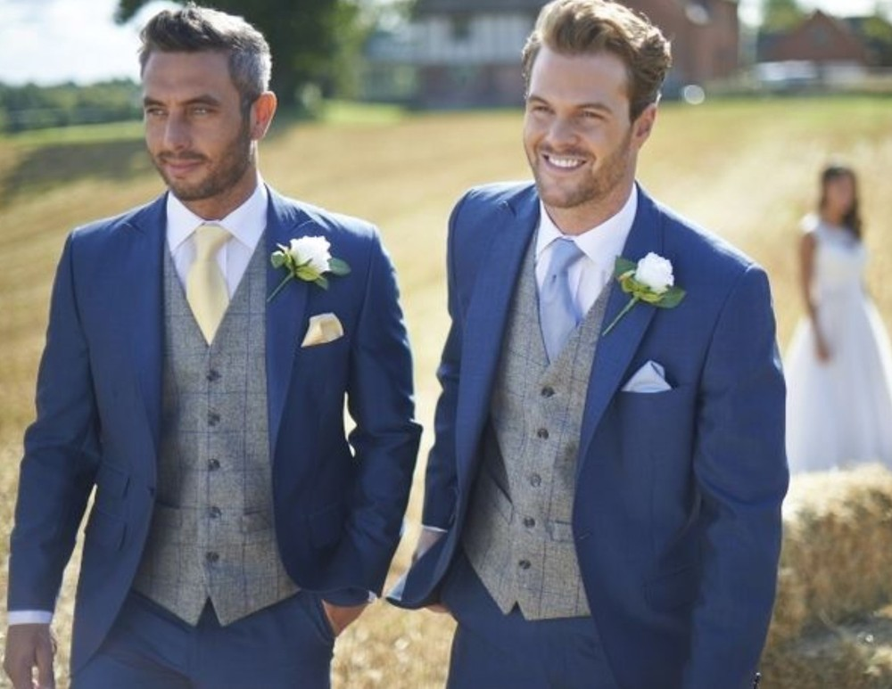 Custom Wedding Suit Special - Purchase 6 Custom Suits and Get One FREE