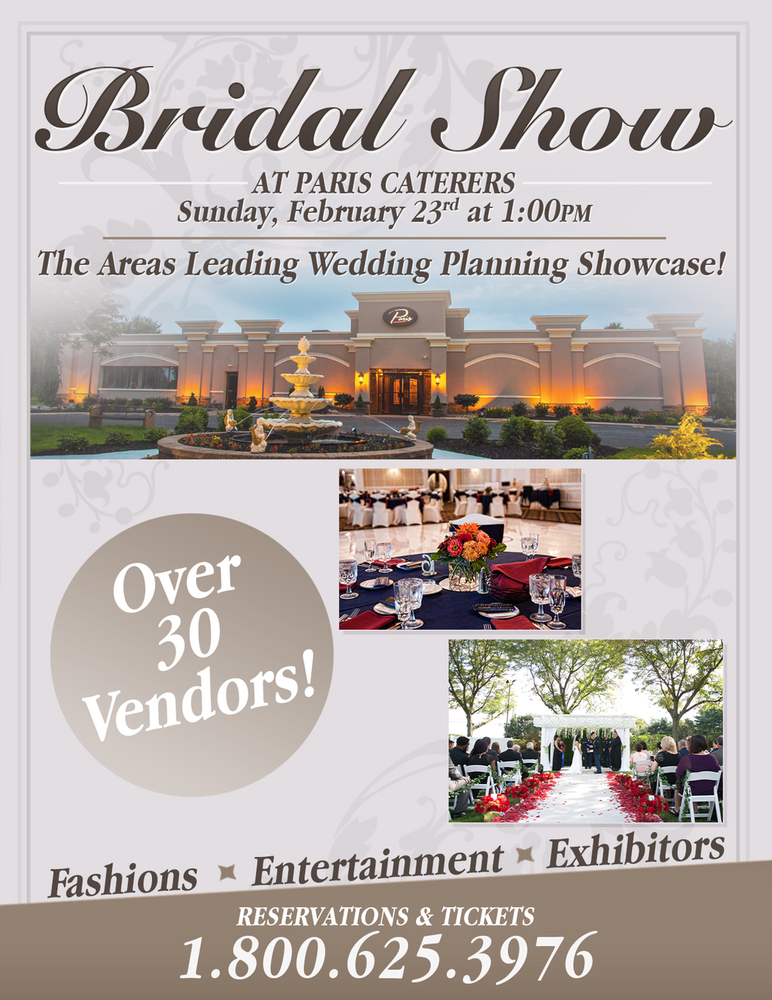 South Jersey Bridal Expo at Paris Caterers